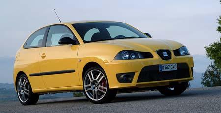 Seat Ibiza Cupra TDI (118 kW):dražší konkurence pro TDI (96 kW)