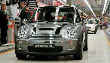 Oxford: Půl milionu vyrobených Mini