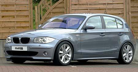 Sportovní podvozek od H&R pro BMW řady 1