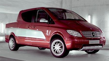 První pick-up od Mercedesu: Viano Activity