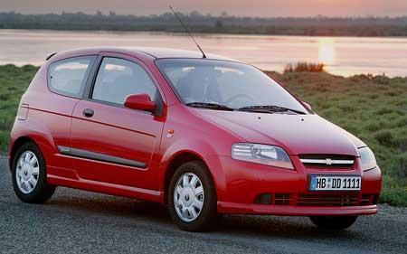 Chevrolet (ex Daewoo): Třídveřový Kalos a dva koncepty