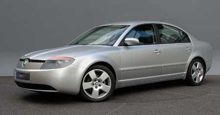 Škoda Enve: důkladný facelift Superbu