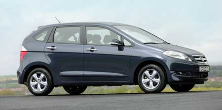 Honda FR-V – další kompaktní MPV