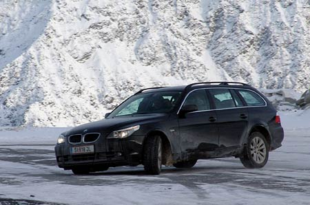 BMW Winter Technic Drive: řidičská praxe na sněhu a ledu