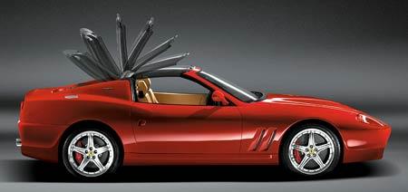 Ferrari 575 M Maranello Superamerica: Další retrobonbónek