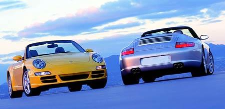 Nové Porsche 911 Carrera Cabriolet: vítr ve vlasech