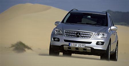 Nový Mercedes-Benz třídy M - první fotografie a informace