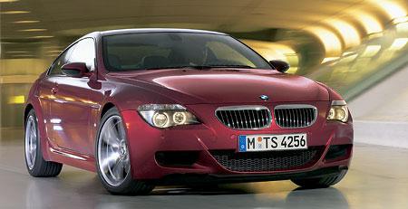 BMW M6 - první fotografie a informace
