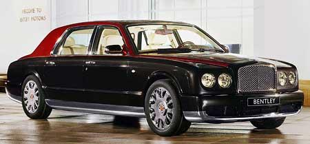Bentley Motors vyrobí 20 kusů Arnage Limousine!