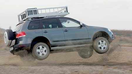 Volkswagen Touareg Expedition: dakarská akce