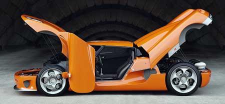 Guinness: Koenigsegg CCR je nej...(601 kW, 920 Nm, 395 km/h)