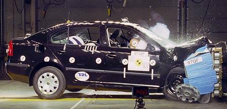 Euro NCAP: čtyři hvězdy pro Octavii, pět pro Focus a Citroën C4
