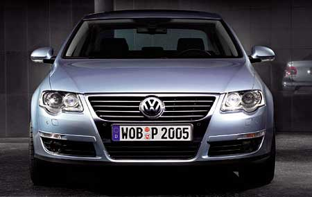 Oficiální fotografie nového Volkswagenu Passat