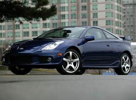 Kanadská Toyota přejmenovala model Celica Tsunami