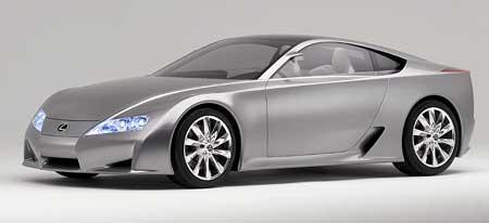 Lexus LF-A: že by první supersport?