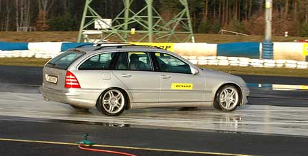 Dunlop Drivers Cup 2005: České finále aneb zimní hrátky bez sněhu