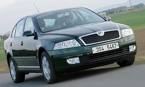 Škoda Octavia je českým autem roku 2005