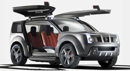 Nissan Zaroot: SUV budoucnosti má křídla