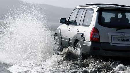 Hyundai Terracan Adventure: další akční nabídka