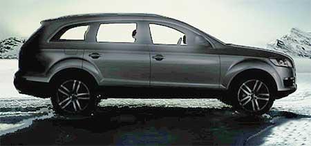 Audi Q7 je na cestě - první fotografie