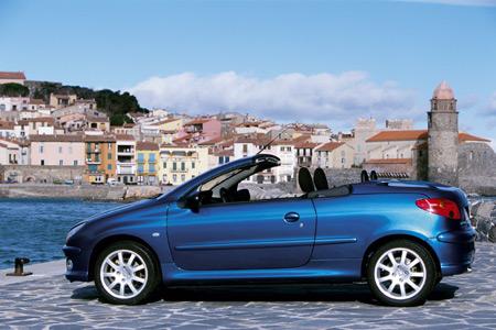 Peugeot 206 CC s naftovým motorem