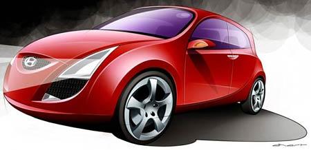 Hyundai přiveze do Ženevy mini-MPV HED-1
