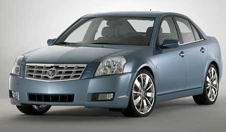 Cadillac BLS: Baby LimuSina pro Evropu