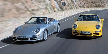 Porsche 911 Carrera Cabrio: podrobné informace