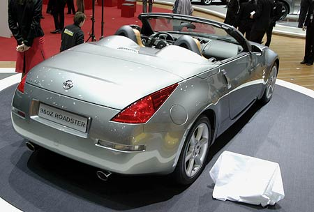 Ženeva živě: Cabrio of the year 2005