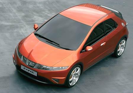 Ženeva živě: Honda Civic concept