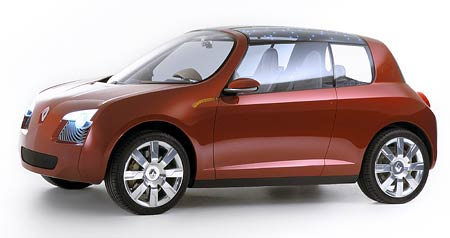 Studie Renault Z17 m� jm�no: Renault Zo�