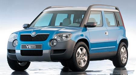 Škoda Yeti: malé SUV a la Roomster