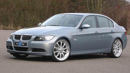 Nová trojka BMW upravená také od Hartge