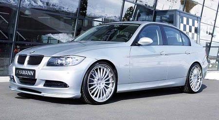 Ostřejší vzhled pro nové BMW 3 od Hamanna