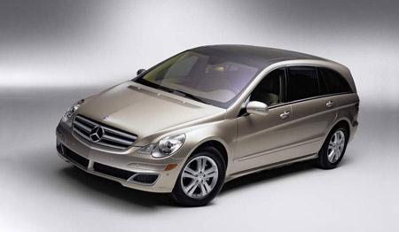 Mercedes-Benz třídy R: první informace a fotografie