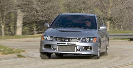 New York: Mitsubishi Lancer Evo IX