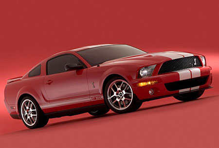 Ford Shelby Cobra GT 500: hadí plémě