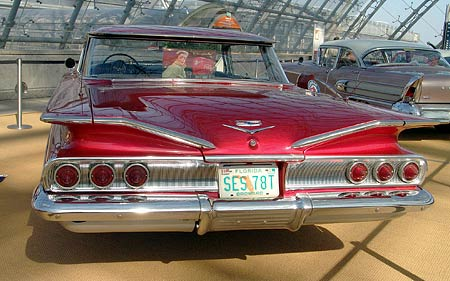 Americké vozy 50.let (velká fotogalerie)-1.díl