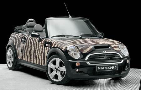 Mini & Bisazza: Auto jako interiérový doplněk