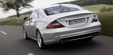 Mercedes CLS 55 AMG: rychlé CLS pro vybranou společnost