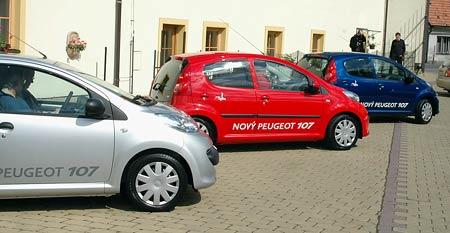 Peugeot 107 – jízdní dojmy, kompletní ceník a výbavy