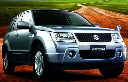 Suzuki Escudo: že by nová vitara?