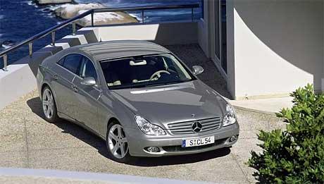 Mercedes-Benz CLS 320 CDI: nafta také pro kupé