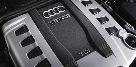 Nový vznětový osmiválec 4.2 TDI pro Audi A8