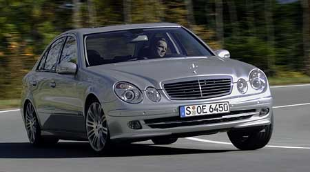 Mercedes-Benz třídy E ozdobí sportovní  paket
