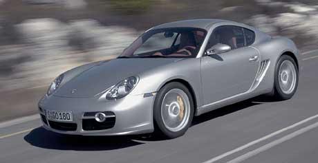 Nové Porsche Cayman: první foto, informace a ceny