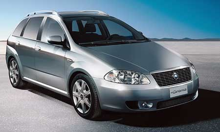 Fiat Croma: oficiální fotografie a informace
