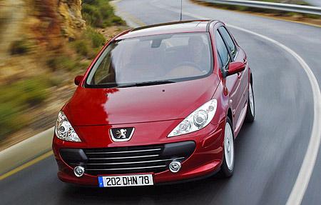 Faceliftovaný Peugeot 307 v Česku