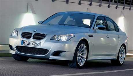 Britové a BMW M5: vyprodáno do roku 2007