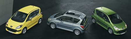 Peugeot 1007: ceny od 379 000 Kč